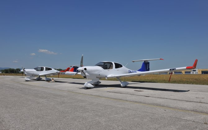 Patria Flight School receives new Diamond training aircraft