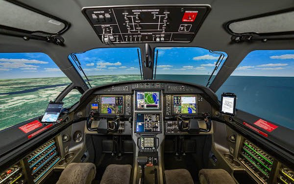 PC-12 NGX flight training device for Pilot Training is certified