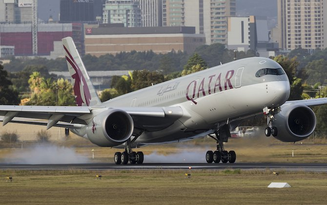 Perth named as Qatar's next Australian A350 destination