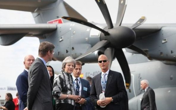 Phenomenal First Day for the Farnborough International Airshow