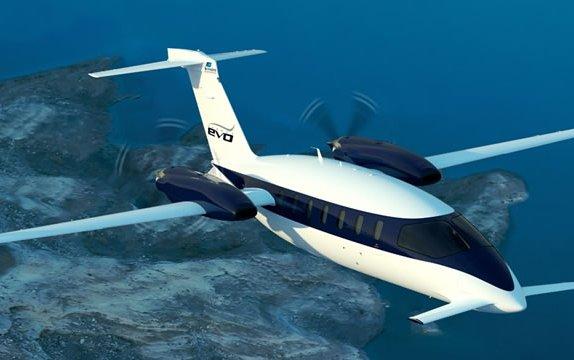 Piaggio Aerospace Avanti EVO at EBACE 2017