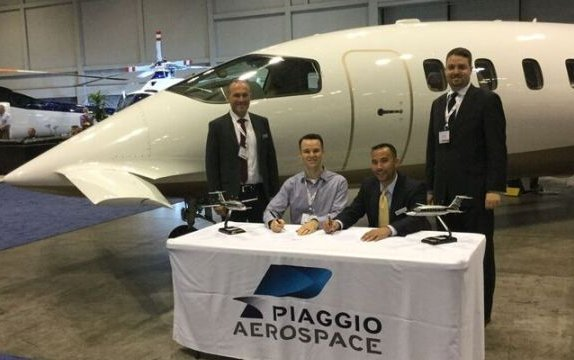 Piaggio Aerospace signs contract for the sale of 5 Avanti EVO in the United States