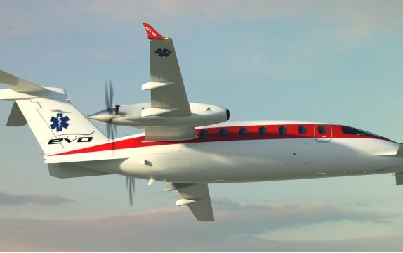 Piaggio Aerospace to offer its Avanti EVO with enlarged door for MedEvac configuration