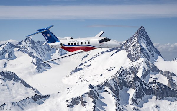 Pilatus Attends EBACE with Its PC-24 and Series Production is Underway