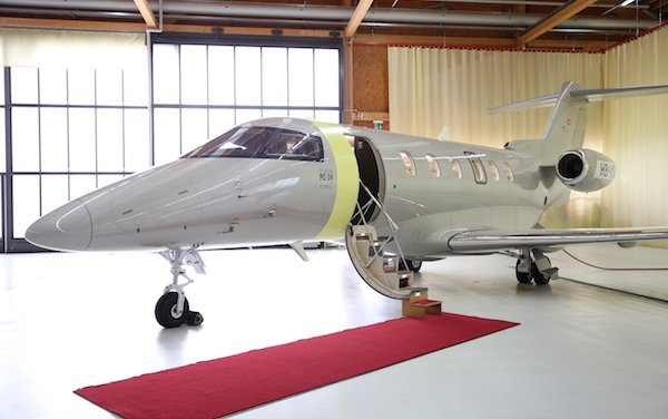 Pilatus Hands Over the First PC-24 to Jetfly