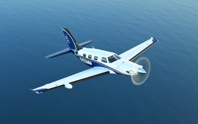 Piper Aircraft M600 on Display for First Time at EBACE
