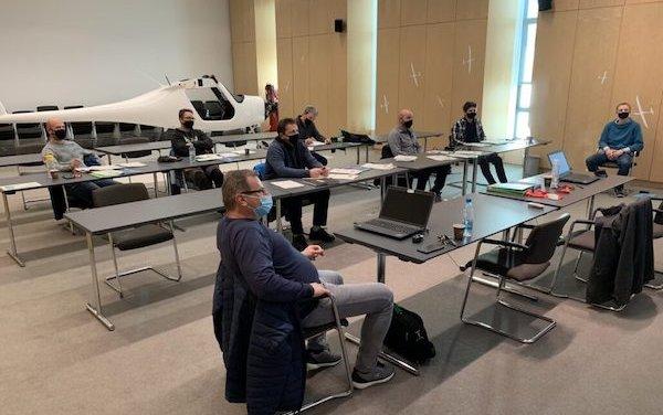 Pipistrel hosted a seminar on certified electric aircraft maintenance for aircraft mechanics