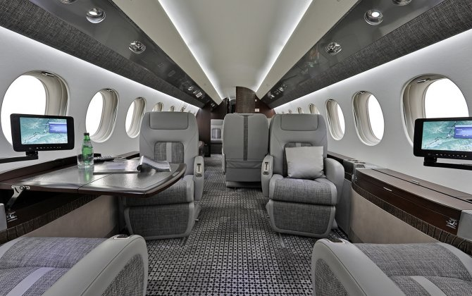 "Planet Nine Private Air LLC (""P9"") launches its first Falcon 7X ultra long-range charter aircraft"