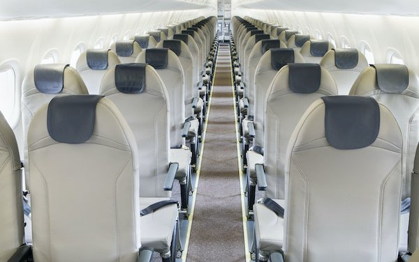 Porter Airlines features world lightest aircraft seat