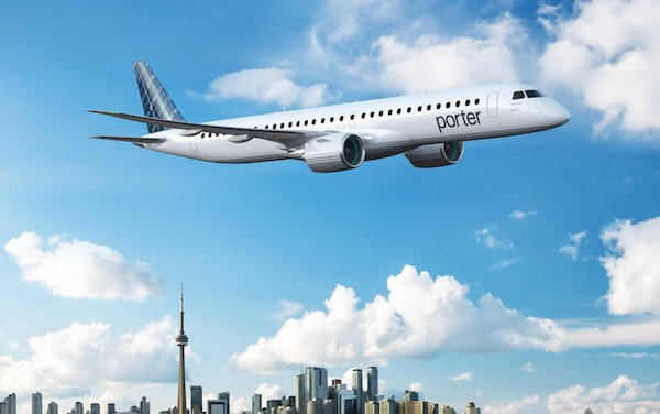 Porter Airlines orders up to 80 Embraer E195-E2s to lead major expansion plan