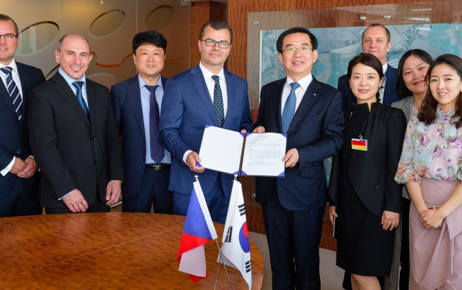 Prague Airport and Incheon International Airport Corporation Signed New Partnership Agreement
