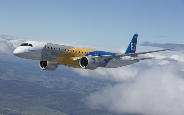 Pratt & Whitney Delivers GTF™ PW1900G Production Engines for Embraer E195-E2 Program