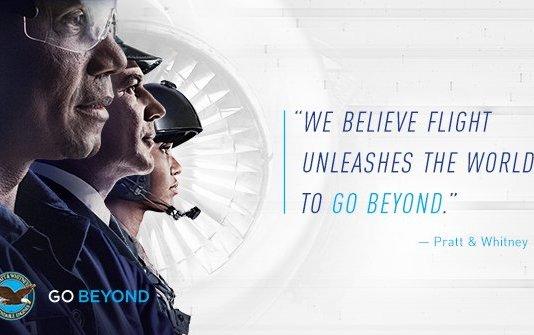 "Pratt & Whitney Launches ""Go Beyond"""