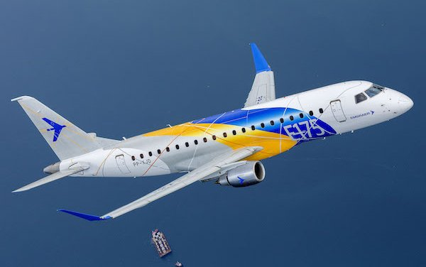 Preliminary forecast for 2019 and 2020 from Embraer