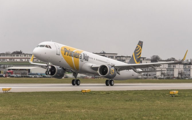 Primera Air takes delivery of its first A321neo