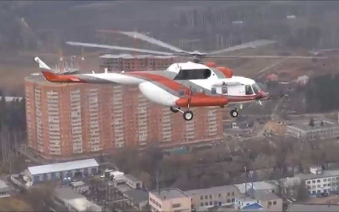 Production Mi-171A2 takes first flight