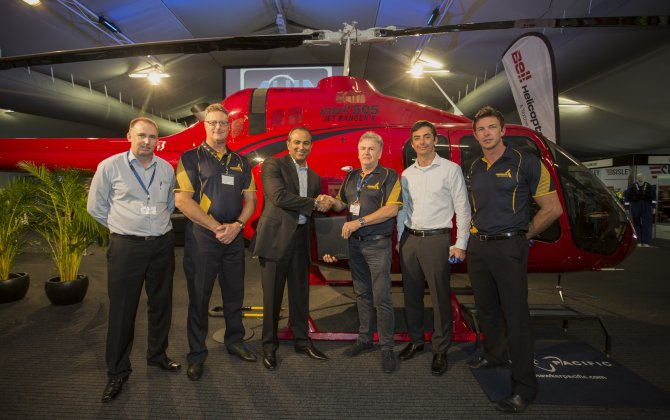 Professional Helicopter Services signs letter of intent for three Bell 505 Jet Ranger X Helicopters
