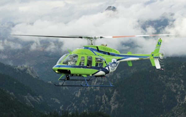 Pulselite bird strike prevention system approved by EASA and CAAC for Bell 407 aircraft