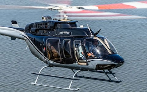Pulselite Bird Strike Prevention System Becomes Standard Equipment on the Bell 407GXi