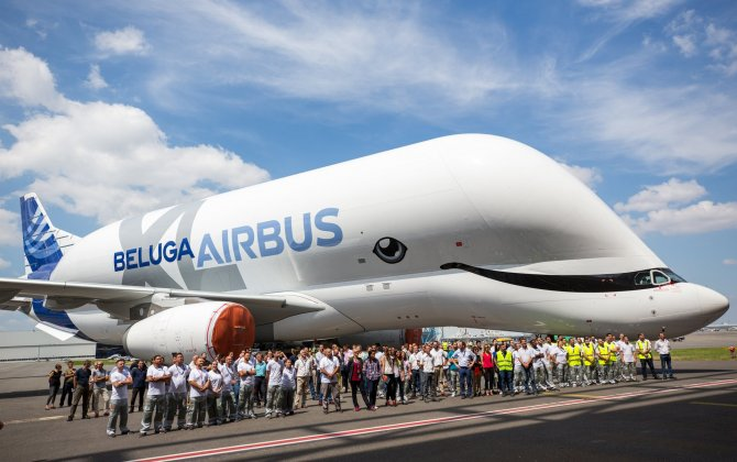 Putting a smile on the BelugaXL's face