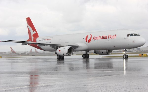 Qantas Freight took delivery of First Airbus A321 Passenger to Freighter Conversion Aircraft