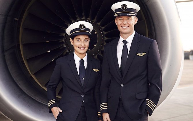 Qantas pilots get new look