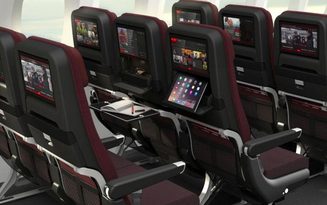 Qantas Unveils Next Generation Cabins For 787 Dreamliner