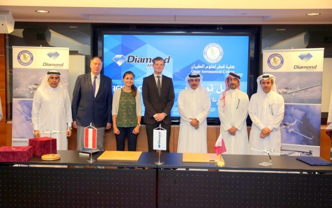 Qatar Aeronautical College selects Diamond Aircraft for Pilot Training