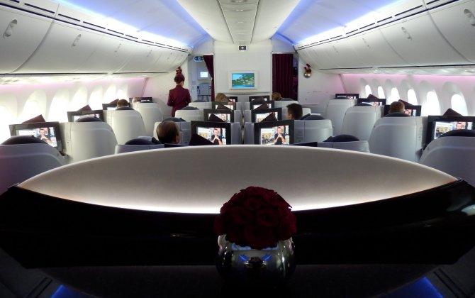 Qatar Airways First To Fly Boeing 787 Dreamliner To Clark International Airport