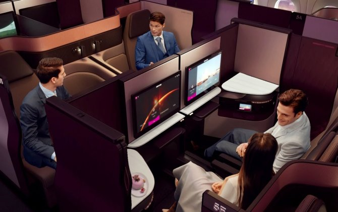 Qatar Airways hightlights 'Qsuite' at Kuwait Aviation Show