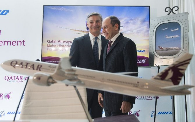 Qatar Airways orders up to 100 Boeing jets valued up to $18.6 billion