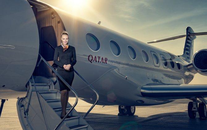 Qatar Airways will display two aircraft from its Qatar Executive fleet at Farnborough Airshow