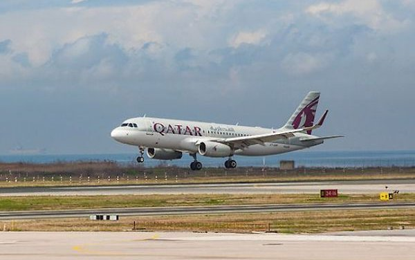 Qatar Airways' World-Class A350-1000 Touches Down On U.S. Soil For the First Time
