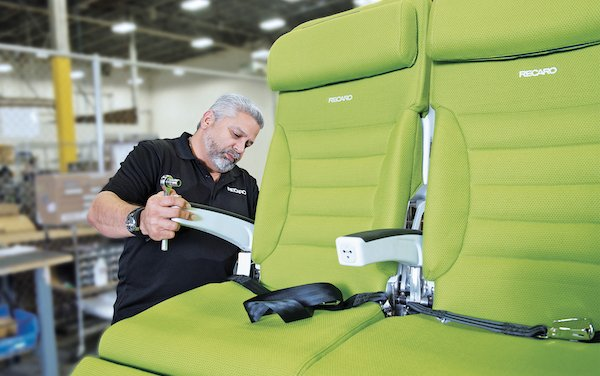 RECARO Aircraft Seating got Airbus Supplier Support Award