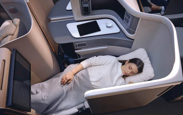 Recaro Aircraft Seating honored with Focus Open Special Mention Award for newest business class seat