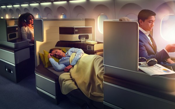 RECARO has invested heavily in its R&D for business class seats