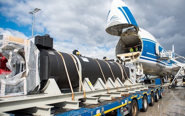 Record breaking shipment delivered by AirBridgeCargo Airlines