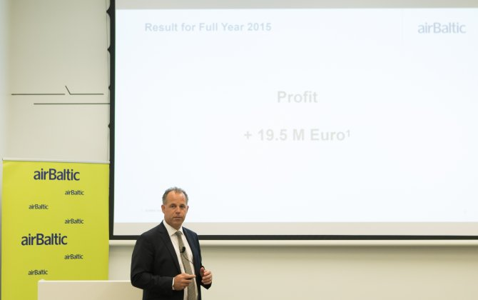 Record Profit for airBaltic