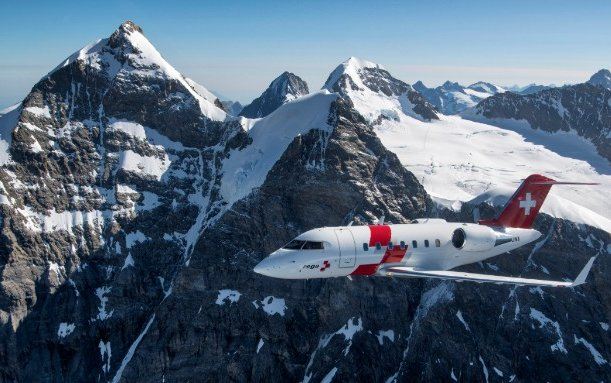 Rega Completes New Air Ambulance Fleet with Delivery of Third Bombardier Challenger 650