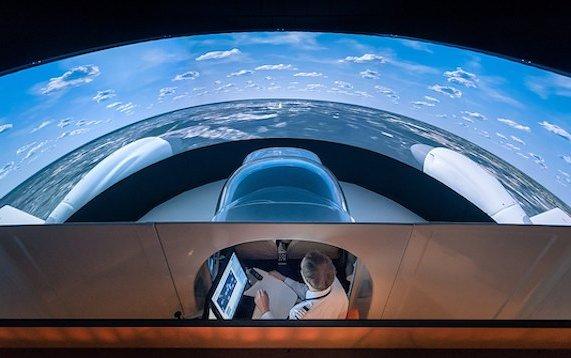Remote simulator installation service by Diamond Aircraft