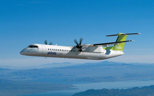 Riga to Frankfurt with airBaltic