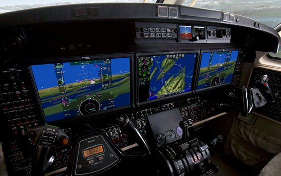 Rockwell Collins' Pro Line Fusion upgrade certified for King Air 350 in Brazil