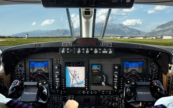 Rockwell Collins unveils ADS-B driven airspace modernization packages for Pro Line 21™-equipped King Airs