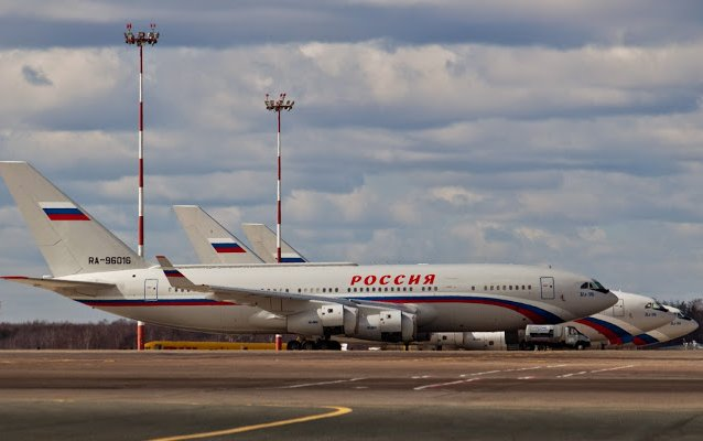 Rossiya special air detachment receives new Il-96-300 airliner
