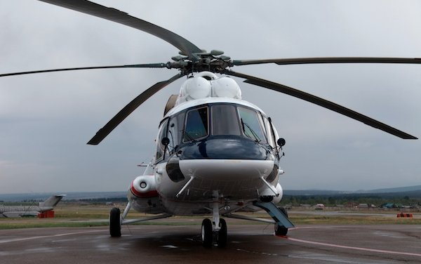Rostec made the first civilian Mi-8AMT Arctic helicopter