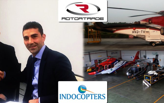 Rotortrade partners with Indocopters (Vectra Group) in India