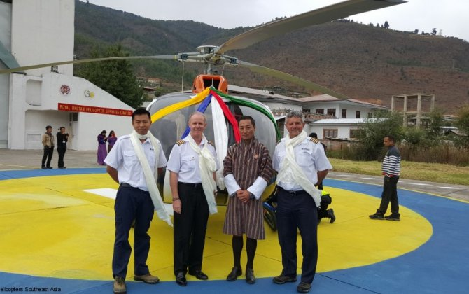 Royal Bhutan Helicopter Services Limited takes delivery of second H130