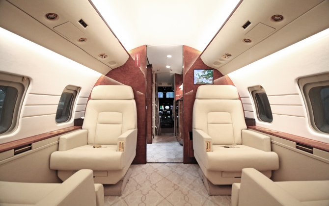 RUAG completes cabin interior refurbishment during heavy maintenance check on Challenger CL604