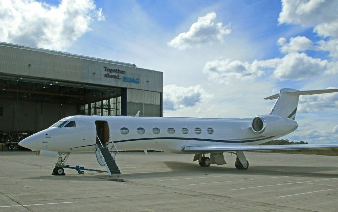 RUAG completes Gulfstream G550 15-month and 30-month inspection