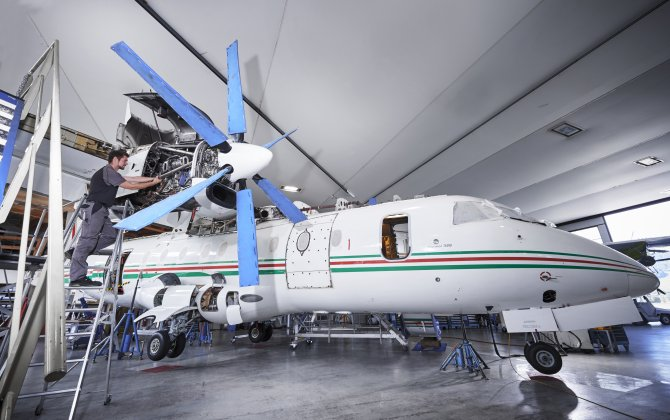RUAG fulfils Dornier 328 phase four and phase six inspection in four weeks